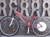 Bicicleta smart, capabila sa ajunga la viteze de pana la 40 de km/ora si sa fie deblocata cu ajutorul telefonului mobil