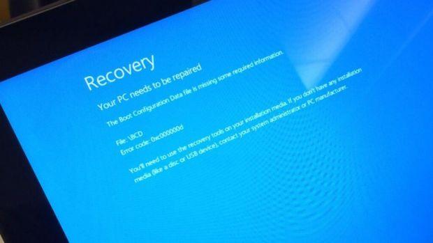Ce au patit utilizatorii care si-au facut update de Windows. Microsoft l-a retras imediat de pe net