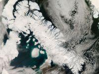 Efectul de sera a dus la temperaturi foarte mari in zona arctica, cele mai mari din ultimii 44.000 de ani