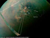 Lacurile lui Titan, dezvaluite de misiunea Cassini a NASA