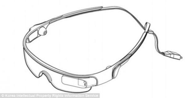 Samsung a patentat ochelarii inteligenti, mai usori decat cei ai concurentului Google