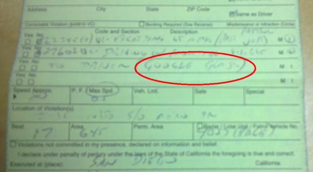 Ce s-a intamplat cu aceasta soferita din San Diego prinsa de politie cu Google Glass la volan