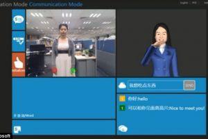 Kinect ii ajuta pe surdomuti sa-si  traduca  semnele in text