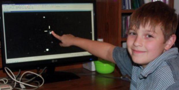 Ce a vazut un baietel de 10 ani cand s-a uitat la imaginile difuzate de un telescop.  Nu mi-a venit sa cred ca este adevarat