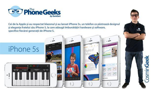 Echipa ThePhoneGeeks a EuroGsm iti prezinta principalele schimbari aduse de iPhone 5S