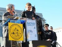 San Francisco, salvat de Batkid. Un intreg oras a indeplinit visul unui copil bolnav care voia sa fie Batman. VIDEO