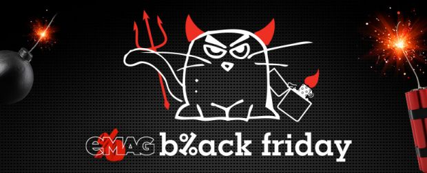 Black Friday. Reducerile de la eMAG continua si in weekend. Telefoane, tablete, electrocasnice si altele la superoferta