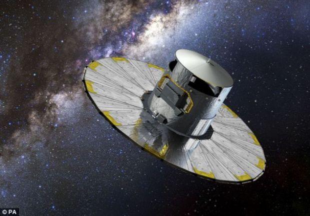 Un miliard de stele isi vor gasi locul pe harta, gratie misiunii Gaia