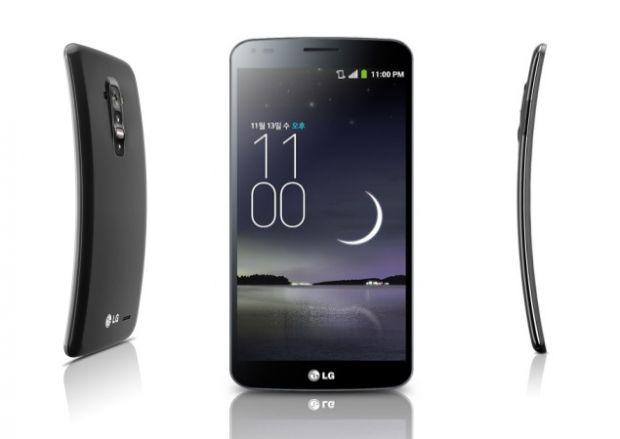 Telefonul inovator LG G Flex, in magazine din aceasta luna