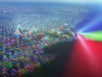 Imagini spectaculoase: Cum ar arata lumea daca ai putea vedea semnalul telefoanelor mobile. GALERIE FOTO