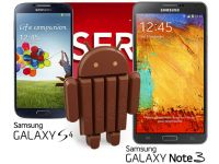 Samsung Galaxy S4 si Note 3 primesc in curand update-ul la Android 4.4 KitKat
