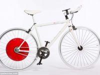 Cea mai practica bicicleta: inmagazineaza energia din pedalare pentru a o elibera cand utilizatorul ei a obosit VIDEO