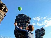 Panono, mingea cu camera care poate face fotografii exceptionale cand este aruncata in sus