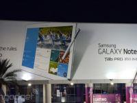 Samsung Galaxy Note Pro si Galaxy Tab Pro si-au facut intrarea la CES Las Vegas