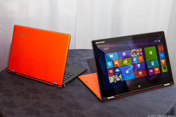 Lenovo Yoga 2, prezentat la CES in variantele de 11 si de 13 inch