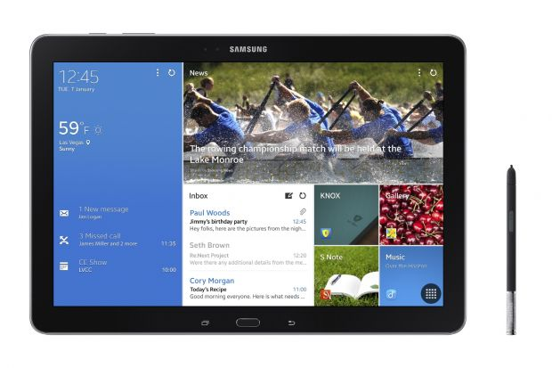 Samsung aduce la CES Galaxy NotePro si TabPRO, tablete de la 8,4  la 12,2 . VIDEO