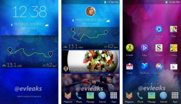 Noua interfata TouchWiz de la Samsung arata extraordinar de bine. Asa va fi ecranul lui Galaxy S5