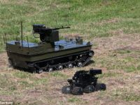 Noii roboti de razboi rusesti, testati acum