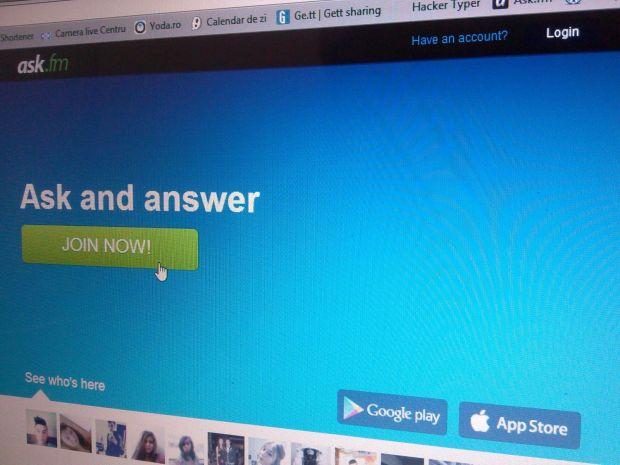 Pericolele din spatele Ask.fm, platforma care a cucerit adolescentii din Romania