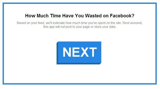 Aplicatia care iti arata cat timp ai pierdut pe Facebook din ziua in care ti-ai facut cont
