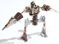Mechanoids, minirobotii creati din resturi