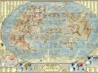 Harta universului online, versiunea  vintage