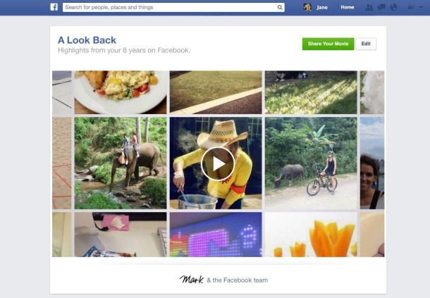 Cadou de la Facebook pentru fiecare utilizator in parte. Filmuletul momentelor tale in reteaua de socializare. VIDEO