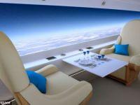 Supersonicul de 60 de milioane de dolari nu are geamuri, ci ecrane gigant