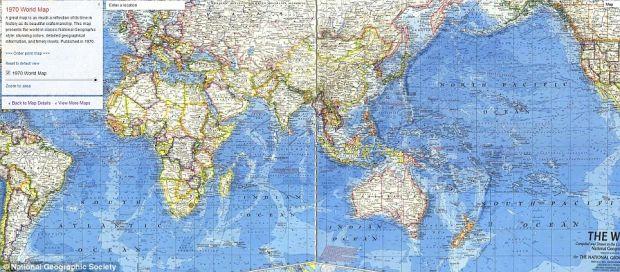 Google Maps devine o enciclopedie de harti istorice