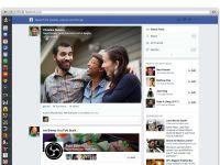 Facebook alege un design minimalist la News Feed pentru web, telefon si tableta