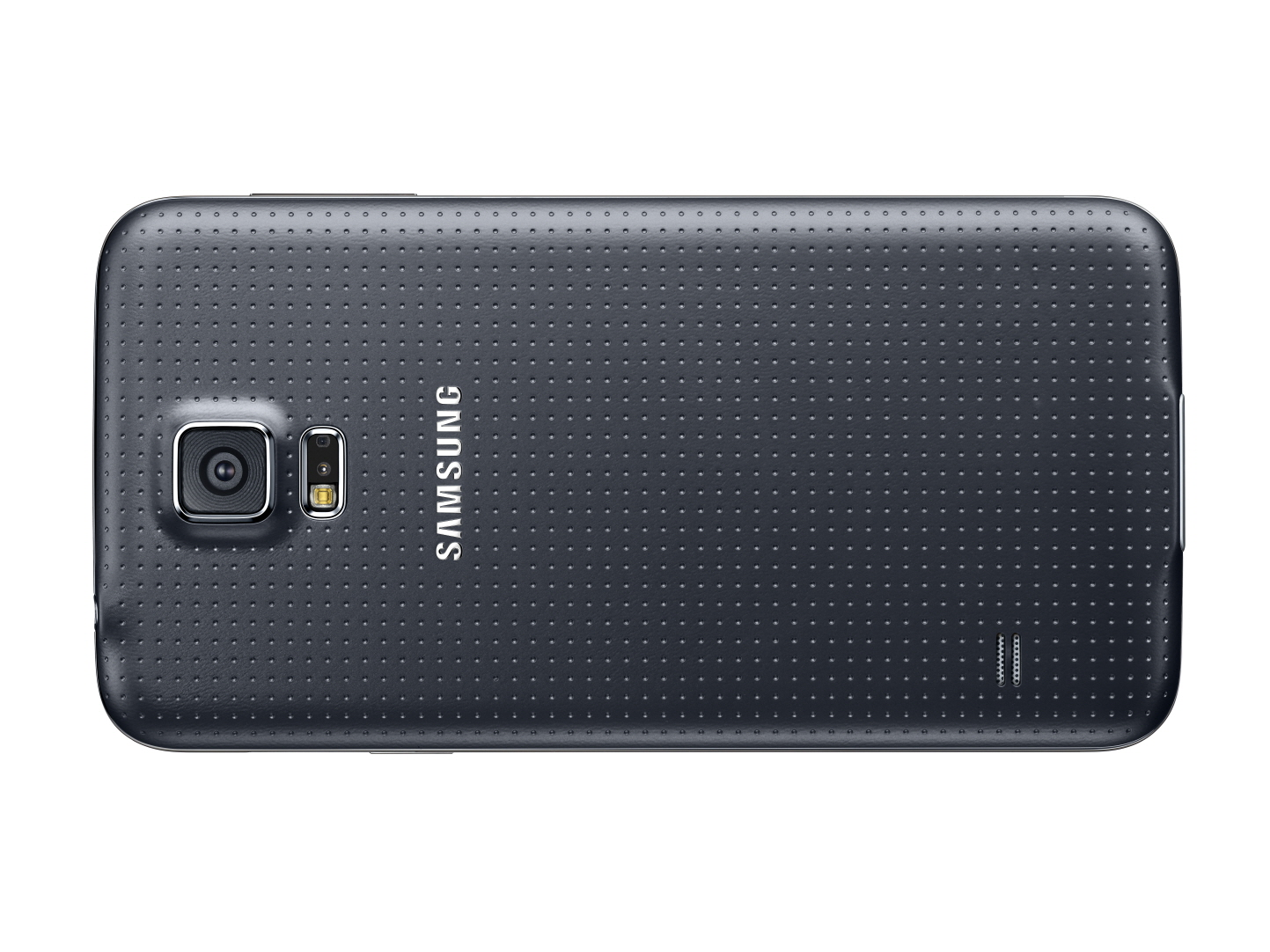 Galaxy S5 are slot pentru un card de memorie de 128GB.