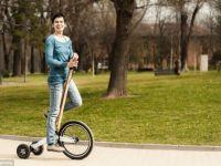 Halfbike, jumatatea de bicicleta la fel practica precum cea cu doua roti