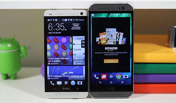 HTC One 2014 fata in fata cu HTC One, intr-un videoclip postat chiar inainte de lansare