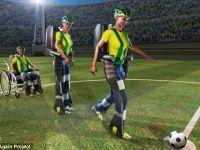 Costumul care poate face din cei cu dizabilitati adevarati fotbalisti va fi la Cupa Mondiala din Brazilia VIDEO
