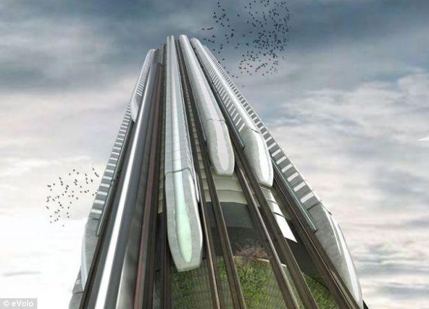 Statiile verticale de tren, o economie de spatiu