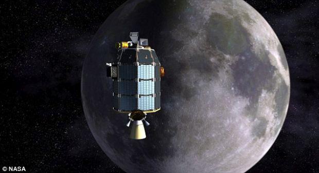 LADEE, o sonda a NASA, se va lovi de Luna pana la sfarsitul lui aprilie