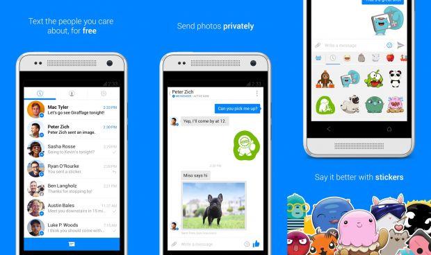 Facebook schimba aplicatia de mobil. Nu vei mai putea trimite mesaje