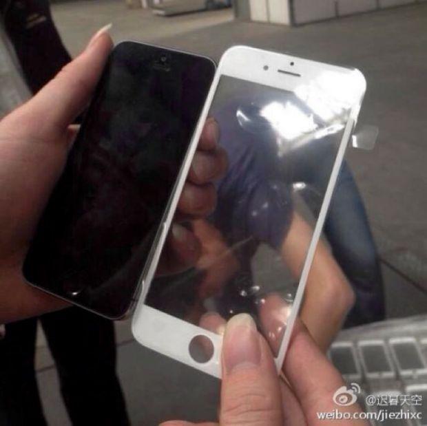 FOTO. Prima imagine clara cu partea din fata a noului iPhone 6