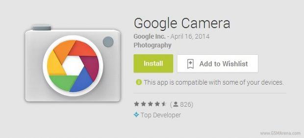 Google imbunatateste aplicatia de camera pentru gadgeturile Android