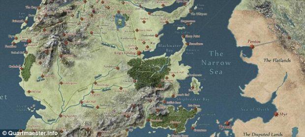 Hartile din Game of Thrones sunt online!