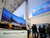 Samsung a adus in Romania primele sale televizoare curbate Ultra HD