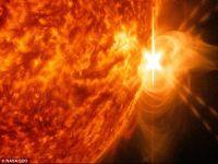 Soarele a trecut printr-un weekend  exploziv  VIDEO