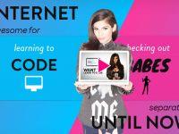 CodeBabes te ajuta sa inveti programare si sa... dezbraci fete VIDEO
