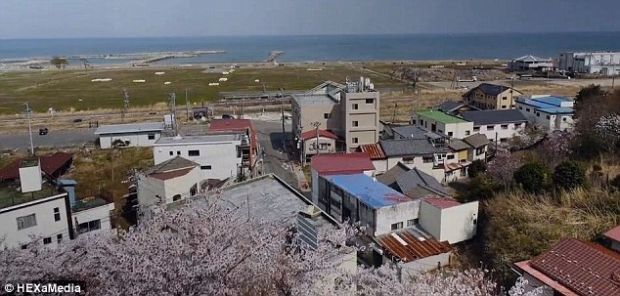 Dronele au surprins imagini de la Fukushima dupa 3 ani de la dezastrul nuclear VIDEO