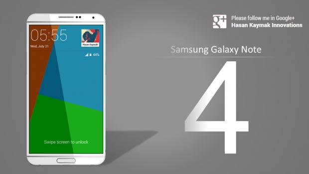 Samsung Galaxy Note 4 ar putea avea mod pentru scufundari si senzor de amprenta mai bun