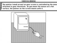 Cum invatau Apple oamenii sa foloseasca un mouse in 1984. Tutorial VIDEO