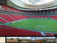 Viziteaza cele 12 stadioane ale Cupei Mondiale cu ajutorul Google Maps