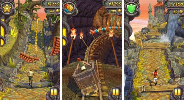 Temple Run a atins 1 miliard de downloaduri