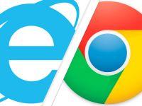 Browserele de la Google reusesc sa intreaca Internet Explorer