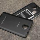 Samsung Galaxy Note 3. Peste 15 ore intre doua incarcari, potrivit testului cnet.